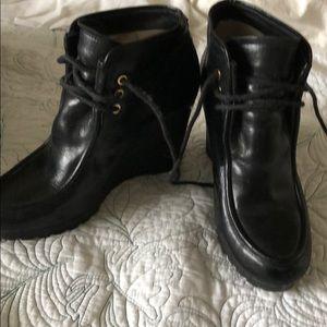 Michael Michael Kors black booties